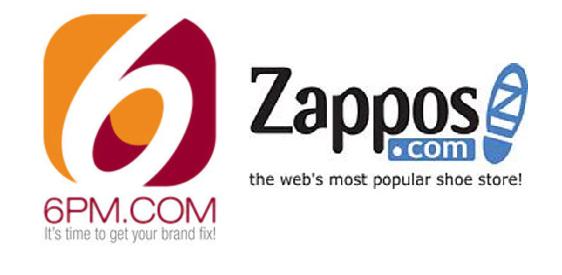 acceso a zappos y 6pm com aeropaq